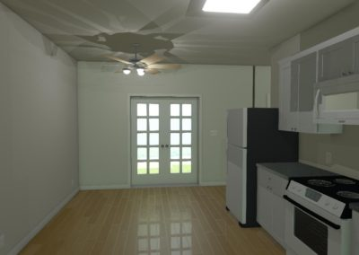UNIT II - 2 BEDROOM KITCHEN